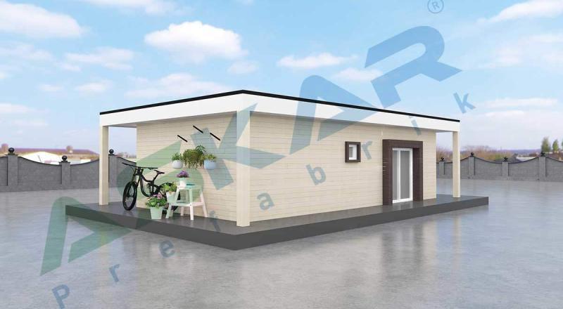 50 metrekare modüler ev izmir