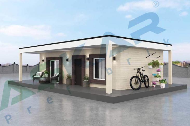 50 metrekare modüler ev modeli
