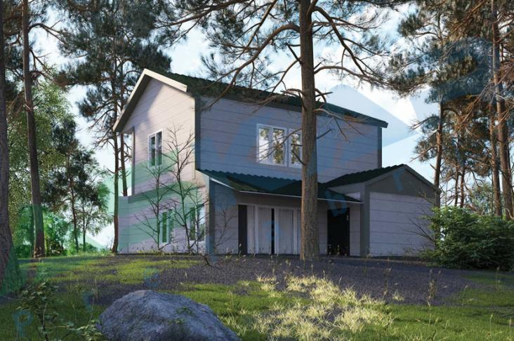 çelik ev 108 metrekare