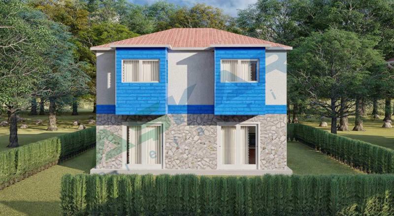 iki katlı çelik ev modelleri