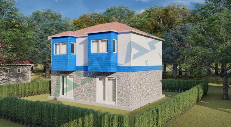 iki katlı çelik ev modelleri izmir