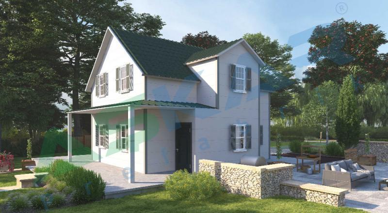 iki katlı çelik evler