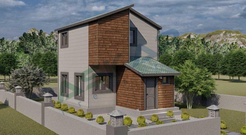 izmir çelik ev modeli