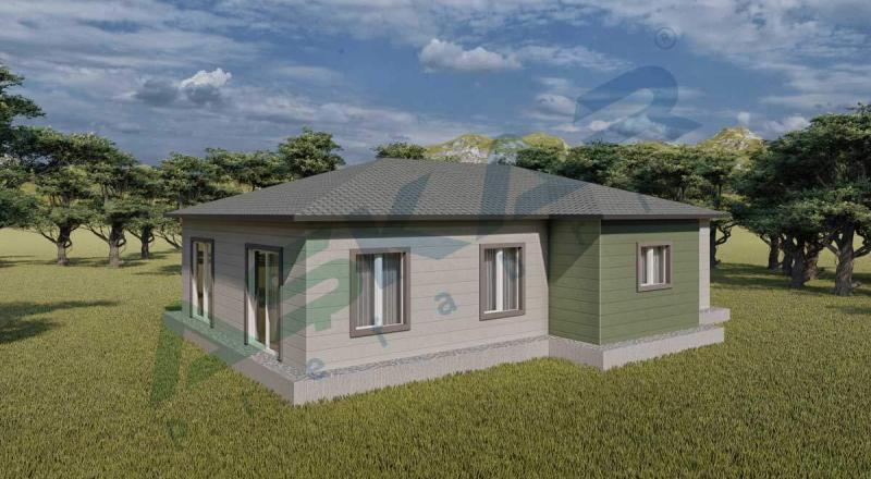 izmir tek katlı çelik ev