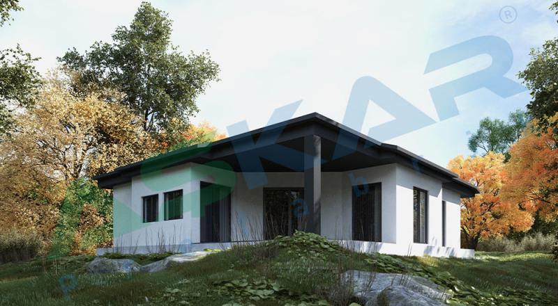 izmir tek katlı çelik evler