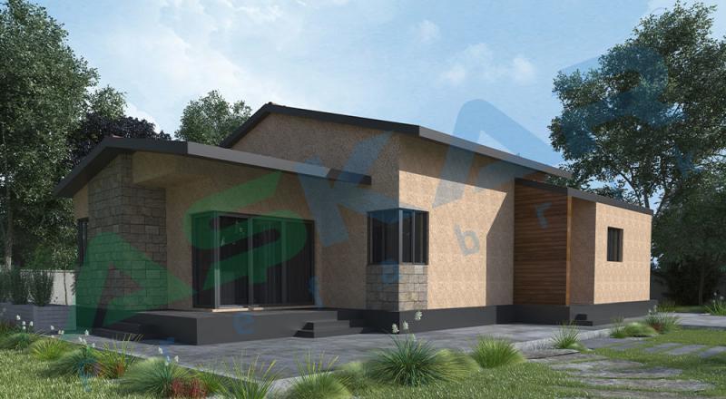 tek katlı çelik evler izmir