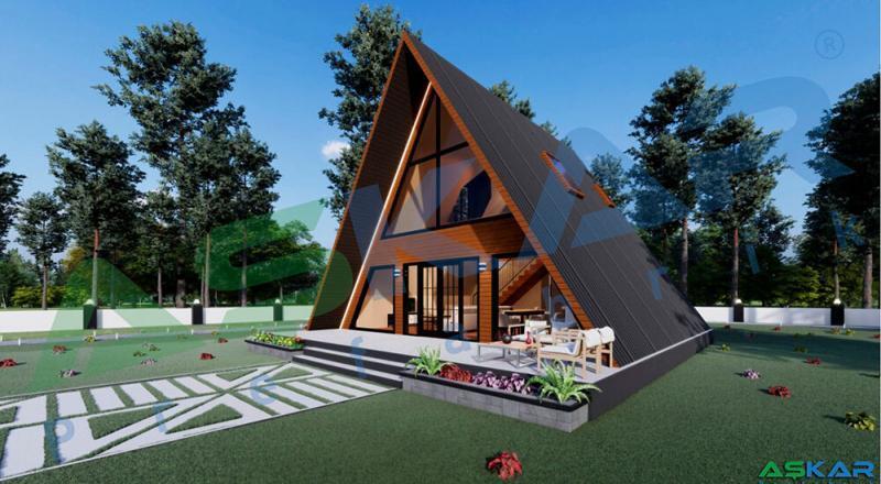 çelik bungalov evler izmir