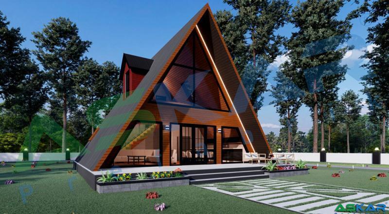 izmirde bungalov ev modelleri