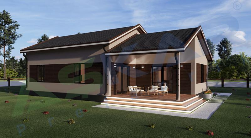 çelik prefabrik evler