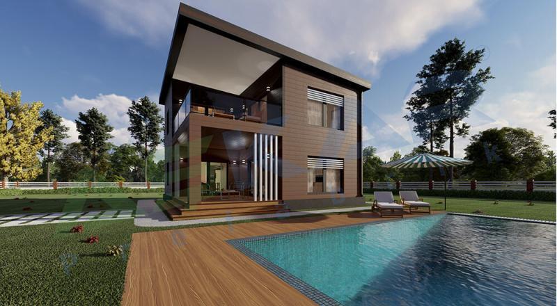 dubleks modüler ev izmir