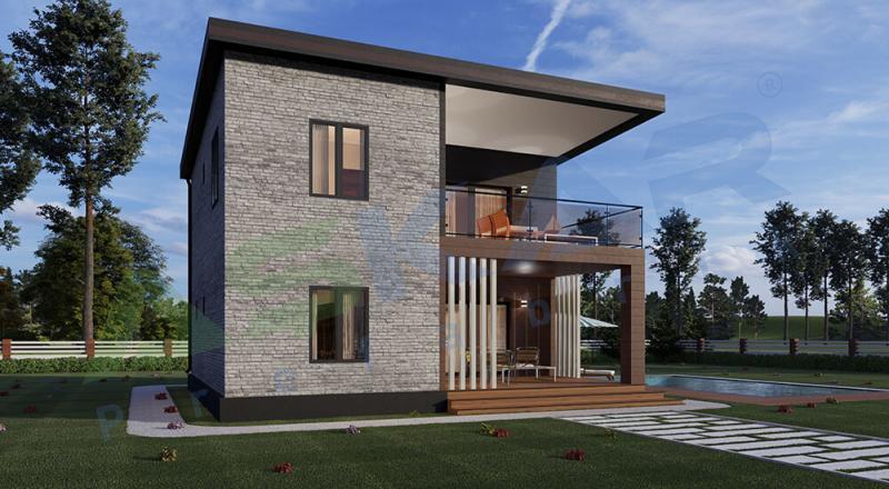 iki katlı modüler ev izmir