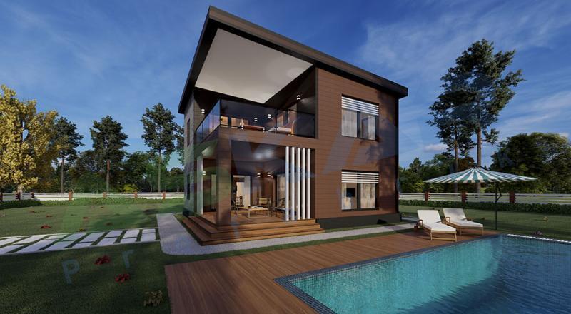 izmir dubleks modüler ev
