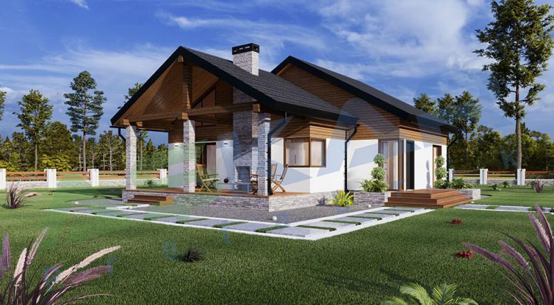 çelik ev modeli