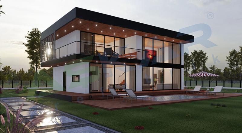 dubleks modüler evler