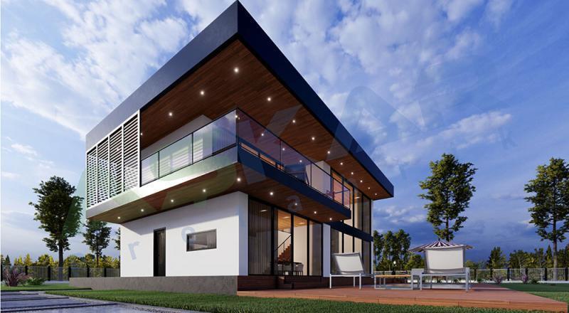 modüler çelik ev