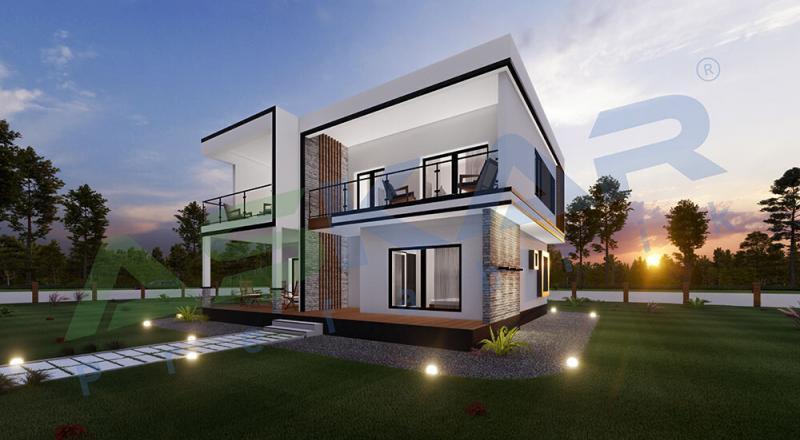 modüler çelik evler