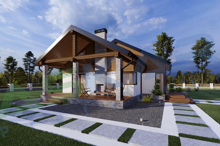 tek katlı çelik ev modeli izmir