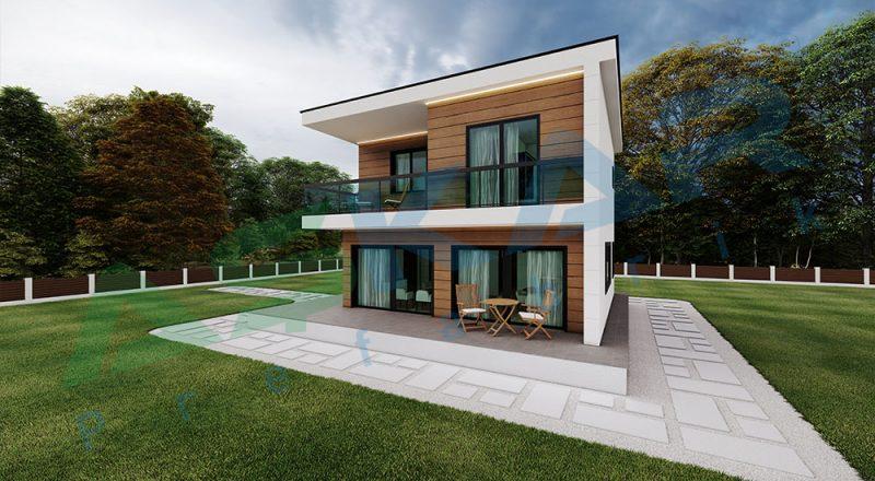 çelik ev modeli izmir