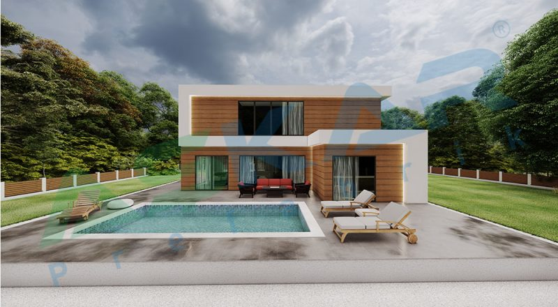 çelik ev modelleri