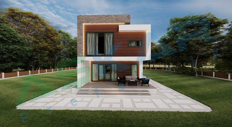 çelik ev modüler