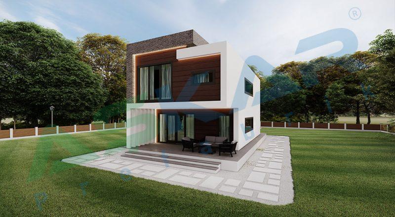 çelik ev modüler yapı