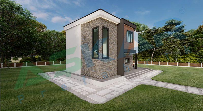dubleks modül çelik ev