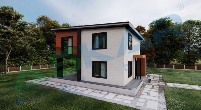 modüler çelik ev izmir