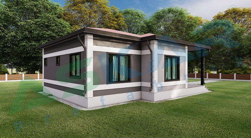 menderes prefabrik çelik ev firmaları