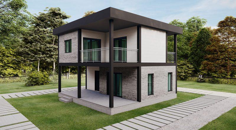 iki katlı ev